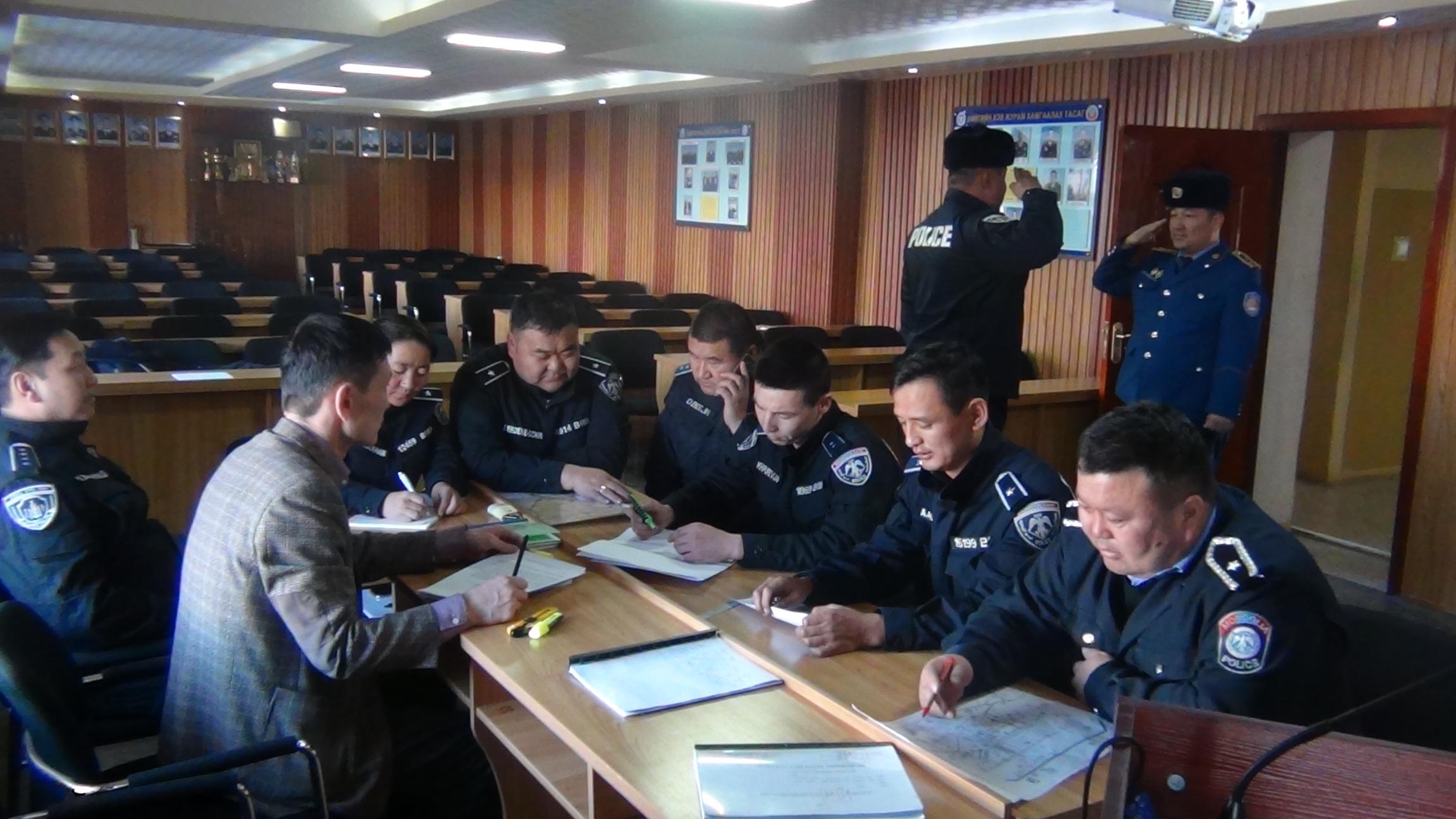 цагдаагийн албан хаагчдад сургалт зохион байгууллаа.