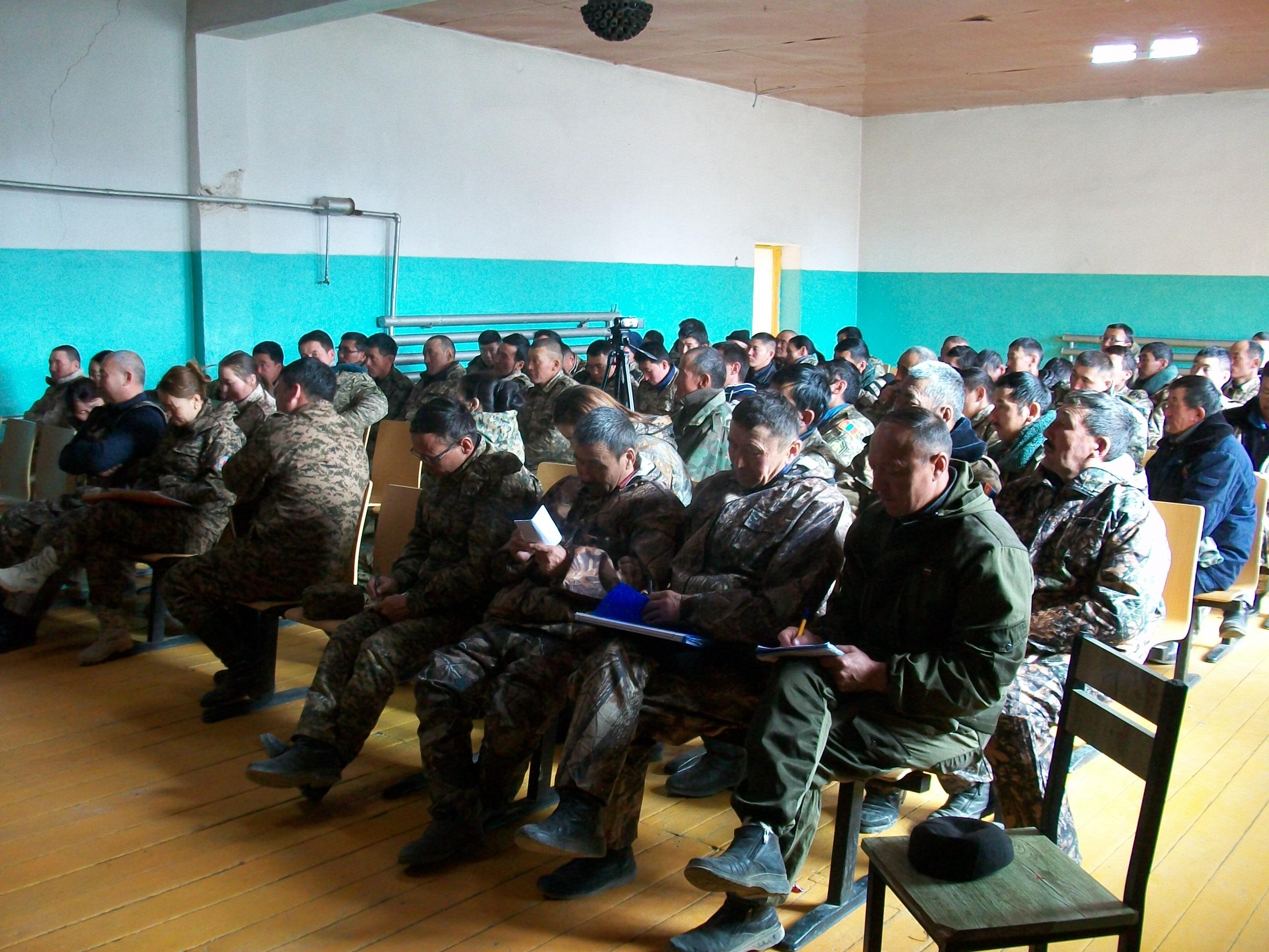 Алтай сумын гамшгаас хамгаалах мэргэжлийн ангийн бүрэлдэхүүнд сургалт явуулав.