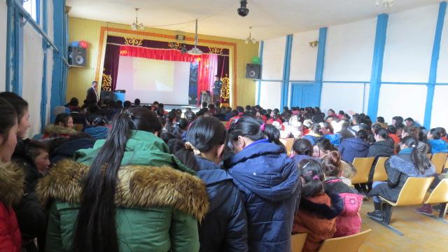 Алтай сумын дунд сургуулийн сурагчдад сургалт явуулав.