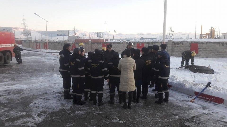 Улаанбаатар дахь шатахууны нөөцийн салбарын ажилтан, албан хаагч нарт