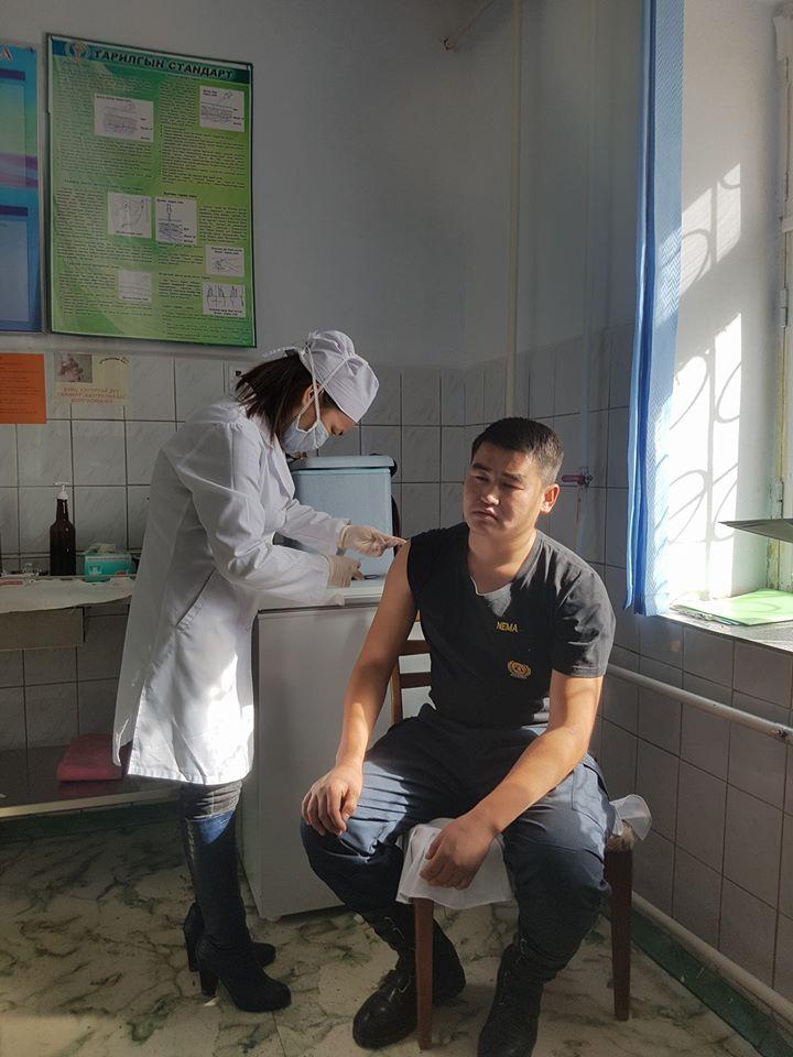 """""""Элэг бүтэн Монгол-2020"""" хөтөлбөрийн хүрээнд албан хаагчдад Элэгний өвчлөл, В, С  вирусын халдвар, урьдчилан сэргийлэх үзлэгт хамрагдлаа."""